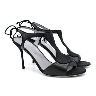 Sergio Rossi Leather Black Heels