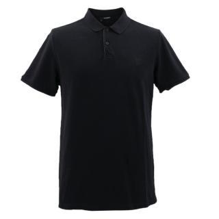 The Kooples Black Polo Shirt