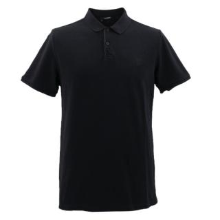 The Kooples Black Polo Shirt