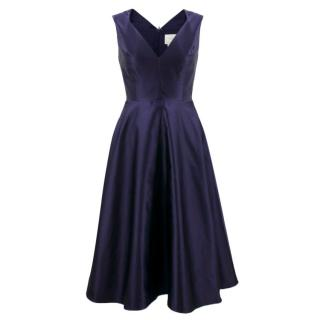 Kate Spade Blue Silk Dress