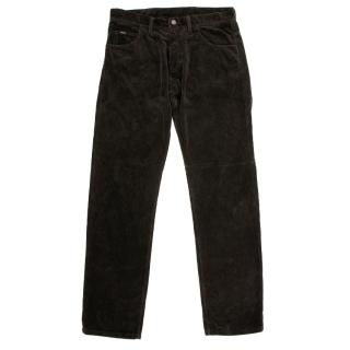 Tom Ford Brown Corduroy Trousers