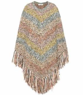 Valentino Multicolour Wool Poncho