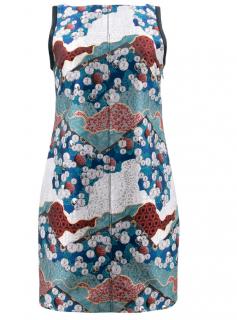 Proenza Schouler Blue Brocade Dress