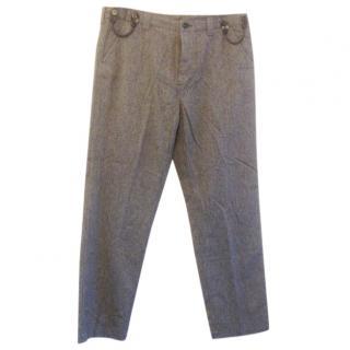 YMC Trouser, Cotton, Heather grey, 36r, BNWT