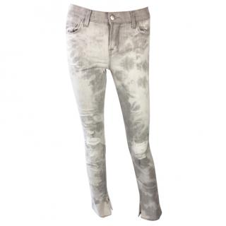J Brand Midrise Dyed Jeans