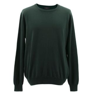 Joseph Green Wool Jumper