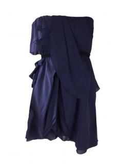 Jasmine Di Milo Navy Blue Mini Dress