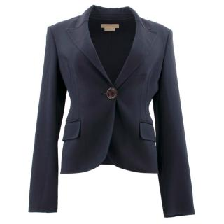 Michael Kors Collection Navy Blazer