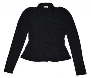 Red Valentino Dark Blue Button Bow Jacket