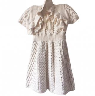 Red Valentino cream dress