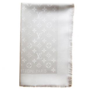 Louis Vuitton Beige shawl scarf
