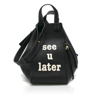 Loewe Hammock See You Later Leather Satchel Bag