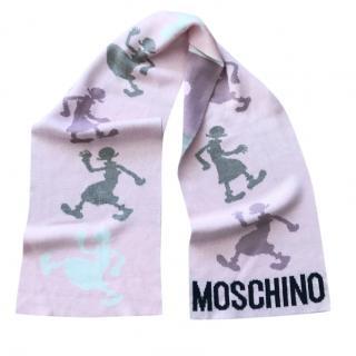 Moschino Pink Scarf