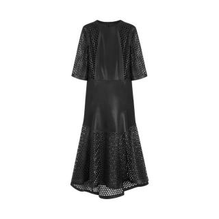 Mulberry Patent Leather Laser Cut Nappa Dress