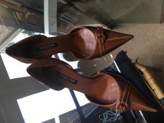 Sergio Rossi Brown Heels