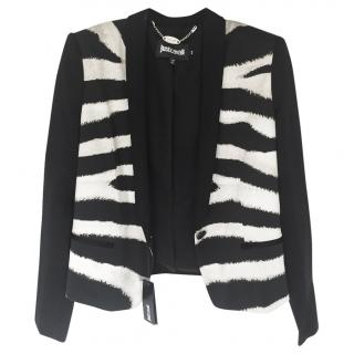 Just Cavalli Zebra Print Jacket