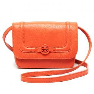 Tory Burch orange crossbody bag