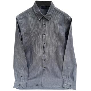 Lanvin x Acne grey cotton shirt