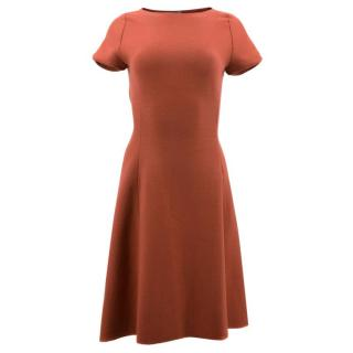 Bottega Veneta Red fit & flare Dress