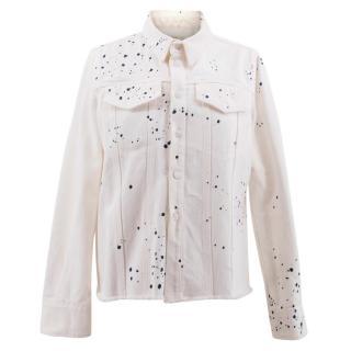 Simon Miller White Denim Jacket