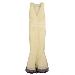 J.Mendel Yellow Evening Gown