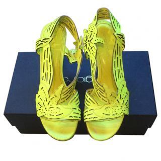 Sergio Rossi neon cloris sandals