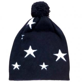 Chianti and Parker Star Cashmere Beanie Hat