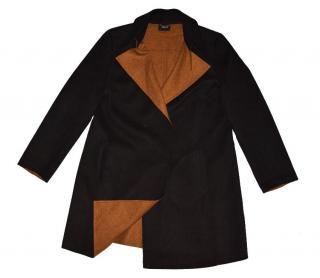 Akris Black Cashmere Snaps Coat