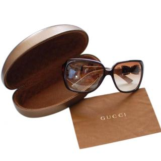 Gucci Bow Detail Sunglasses
