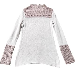 Tory Burch Long Sleeved Knitted Top