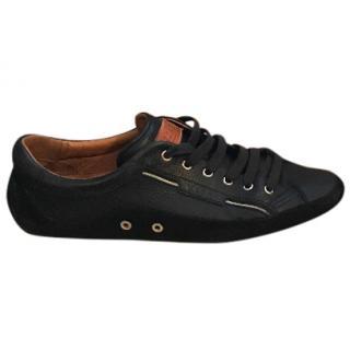 Bally men's black loafer/sneakers