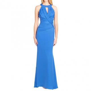 Badgley Mischka  Blue Gown  US Size 10 RRP $899