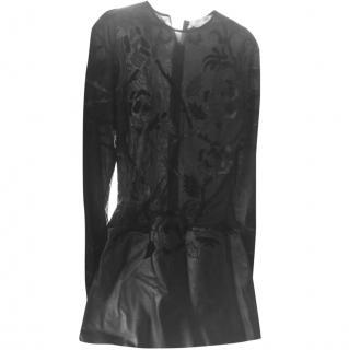 Jitrois Short Leather Dress