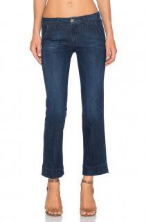 FRAME DENIM Straight Cropped Denim Jeans