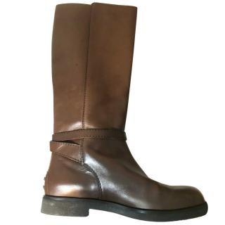 TOD'S RIDING STYLE BOOTS