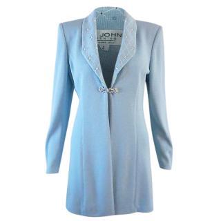 St John Light Blue Evening Jacket
