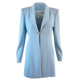 St John Light Blue Evening Jacket