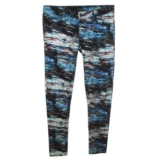 The Kooples Ladies Patterned Jeans