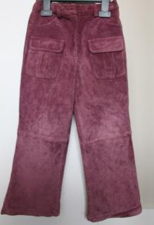 Girls Suede Pants