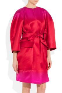 Burberry Prorsum Opera Silk Cocoon Coat