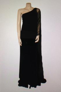 Marchesa Notte Black Full Length Ball Gown