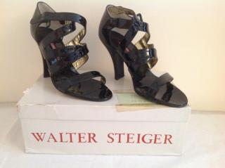 Walter Steiger Black Patent Leather Shoes