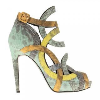 Pierre Hardy watersnake sandals
