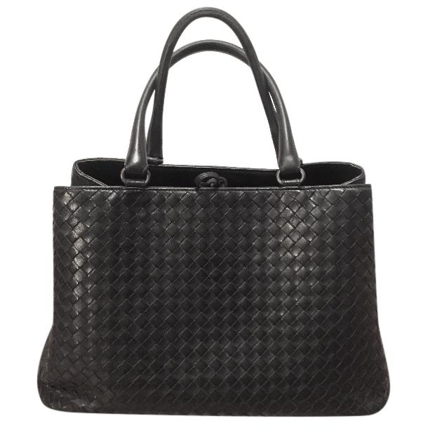 Bottega Veneta black Milano bag