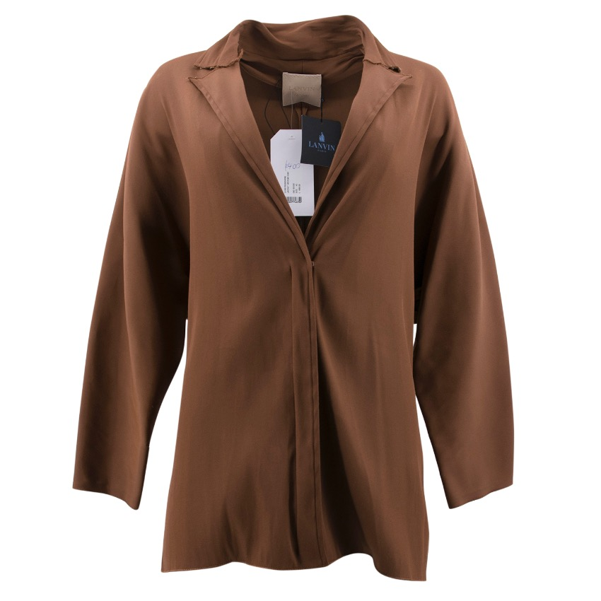 Lanvin Brown Jacket