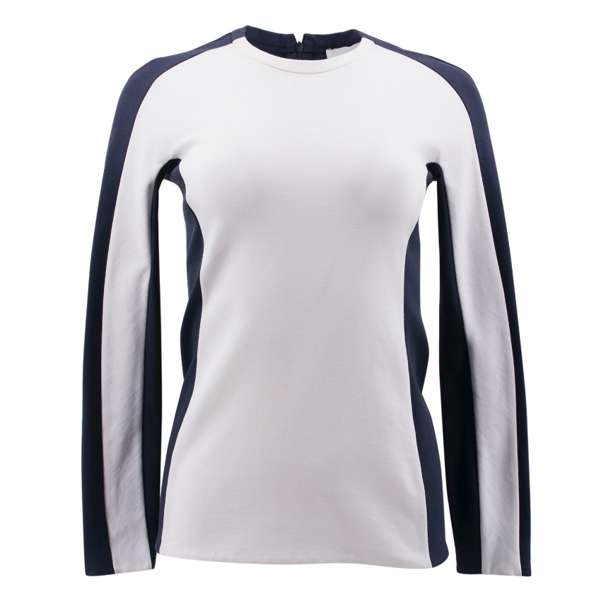 Phillip Lim Contrast Crew Neck Top