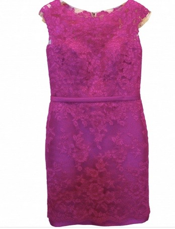 Pronovias lace dress