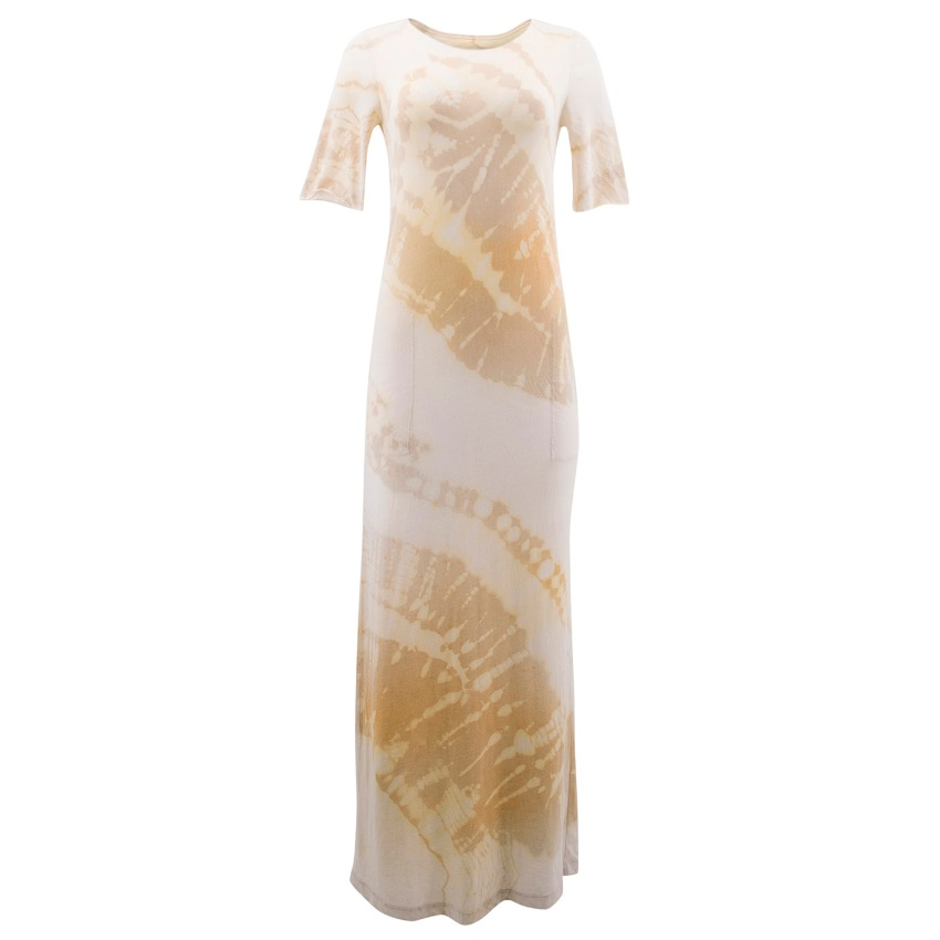 Raquel Allegra Desert Wave Maxi Dress