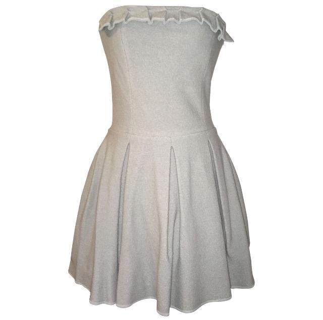 Emporio Armani - Strapless Wool Dress