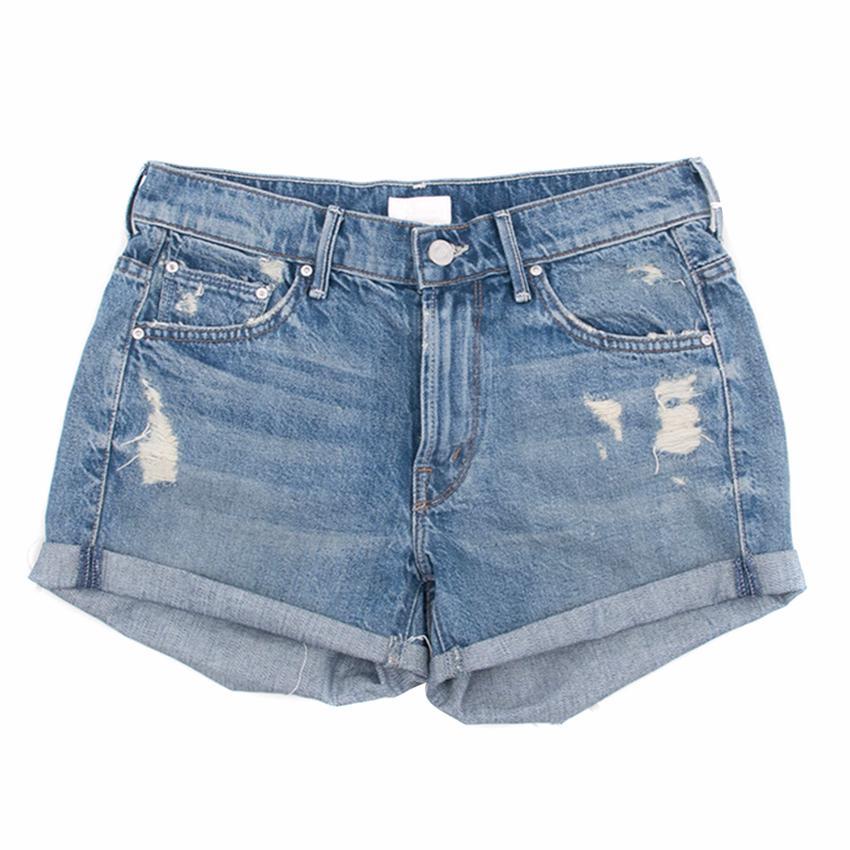 Mother Denim Distressed Shorts